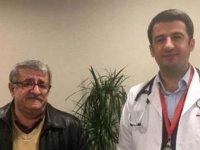 Emekli öğretmeni, doktor olan öğrencisi hayata döndürdü