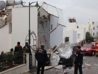 Bodrum'da buzdolabı bomba gibi patladı!