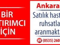 Ankara'da Satılık hastane ruhsatları aranmaktadır