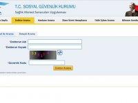 Sosyal Güvenlik Kurumundan yeni hizmet: Doktor Arama