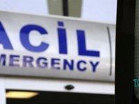 Yaralı kadına yoldan geçen doktorlar müdahale etti