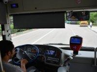 Yaşlı adam otobüste kalp krizi geçirdi, şoför acile çekti