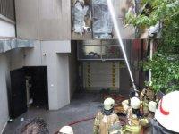 İstanbul'da özel bir hastanede yangın
