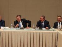 Sağlık Bakanı Koca, Ankara İl Değerlendirme Toplantısı'na katıldı