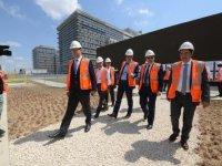 Başakşehir Şehir Hastanesi inşaatında son 1 yıla girildi