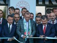 Cumhurbaşkanı Erdoğan, Bursa Şehir Hastanesinin açılışını gerçekleştirdi