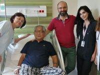 Japon turist, Şehir Hastanesinde sağlığına kavuştu