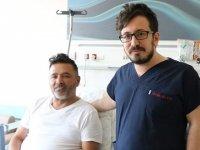 Kalp krizi geçiren hastaya, doktorun sözleri moral oldu
