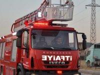 Özel hastanede yangın, hastalar tahliye edildi