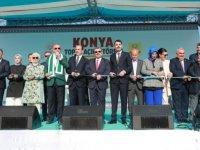 Cumhurbaşkanı Erdoğan, Konya'da Toplu Açılış Töreni'ne Katıldı