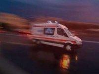 Hastane önündeki ambulans çalındı