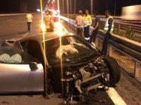 Trafik kazası geçiren Acun Ilıcalı ölümden döndü