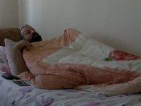 Babasına karaciğerini verebilmek için 17 kilo verdi