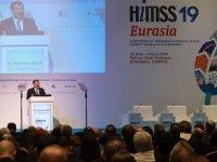 Fahrettin Koca, HIMSS'19 Eurasia'nın açılış törenine katıldı
