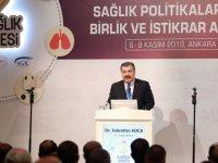 Sağlık Bakanı Koca, 8. Sağlık Zirvesi'ne katıldı
