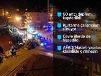 Türkiye'nin dört bir yanından sağlık çalışanları deprem bölgesine gidiyor