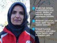 Azize Çelik ile telefonla görüşen acil tıp teknisyeni Emine Kuştepe o anları anlattı