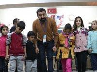 Depremzede çocuklara psikososyal destek