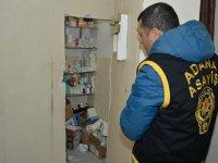 Adana'da gizli bölmeli kaçak hastaneye baskın: Hastanede çalışan sahte doktorlar da gözaltına alındı