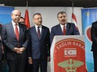 Bakan Fahrettin Koca, KKTC'de 500 tataklı hastane müjdesini verdi