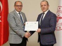 Antalya İl Sağlık Müdürlüğü, Sıfır Atık Belgesi'ni aldı