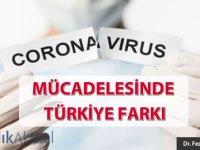 Corona mücadelesinde Türkiye farkı...