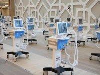 Yerli solunum cihazları Başakşehir Şehir Hastanesi'ne teslim edildi