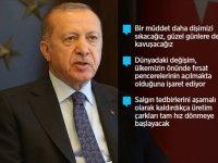 Cumhurbaşkanı Erdoğan: Ekonomik İstikrar Kalkanı ile açıkladığımız desteklerin tutarı 200 milyar lira