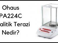 Ohaus PA224C Analitik Terazi Nedir?