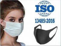 ISO 13485 2016 Belgeli Yüz Maskeleri