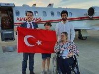 Bakan Koca talimat verdi! Ambulans uçakla Türkiye'ye getirildi