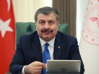 Sağlık Bakanı Koca, Rus mevkidaşı Murashko ile görüştü