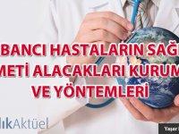 Yabancı Hastaların Sağlık Hizmet Alacakları Kurumlar ve Yöntemleri