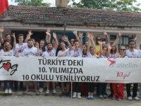 Astellas İlaç Türkiye, 10. yılını 10 okulu yenileyerek kutladı!