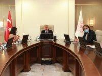 Bakan Yardımcısı Güven, Sıhhat Projesi kapsamında AB yetkilileri ile görüştü