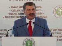 Sağlık Bakanı Fahrettin Koca: Salgın ortadan kalkmadı, artarak devam ediyor