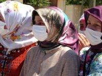 Fatma hemşire, yangında kaybettiği iki çocuğunu sonsuzluğa uğurladı