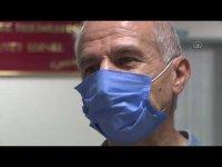 Kovid-19 tedavisi için döndüğü eski hastanesinde yaşam savaşını kazandı