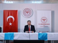 Sağlık Bakanı Koca, 6 ilin sağlık yöneticileriyle İzmir'de bir araya geldi