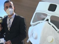 Fikri oğlu verdi, babası yaptı... Yerli 'akıllı maske' seri üretime hazır