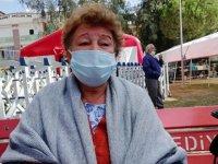 Koronavirüs nedeniyle ayrıldığı evi depremde yıkıldı