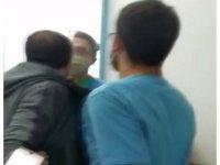 Diş Kliniğini basan karı koca terör estirdi