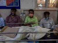Hindistan'da günlük Kovid-19 vaka sayısı 40 gün sonra ilk kez 200 binin altına düştü