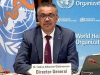 """DSÖ Genel Direktör Ghebreyesus: """"Sinovac aşısının acil kullanımına onay verilmesinden mutluluk duyuyorum"""""""