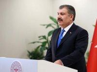 """Sağlık Bakanı Koca'dan, """"İş hayatımızın normalleşmesi için kolları sıvıyoruz"""" mesajı"""