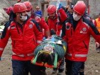 Sağlığın gönüllü komandoları 3 günlük kamp sonrası olası afetlere hazır