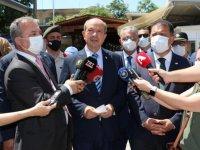 KKTC Cumhurbaşkanı Tatar, Metehan Sınır Kapısı'nı ziyaret etti