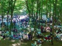 Erzurum'da kısıtlamasız ilk cumartesi günü piknik alanlarında yoğunluk yaşanıyor