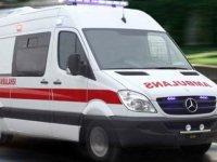Karabük'te hamile kadın hastaneye kaldırılırken ambulansta doğum yaptı