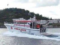 Adalar'dan ana karaya yaşam köprüsü: 112 deniz ambulansları